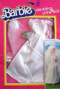 1983 Barbie - Wedding 👰 Of The Year Barbie Bridal, Barbie Wedding Dress, Barbie Dress, Barbie Clothes, Barbie Outfits, Wedding Dresses, Vintage Barbie Dolls, Vintage Toys, Wedding Of The Year