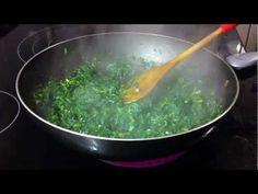 Espinacas Salteadas - Mi Receta - YouTube