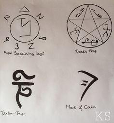 Supernatural symbols                                                        …