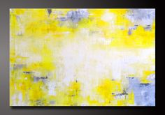 Abstract in Yellow 8  Abstract Acrylic by CharlensAbstracts