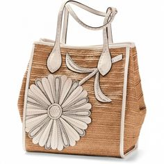 Brighton is known for its exquisitely crafted women's handbags, jewelry, and charms for bracelets, along with many other stylish accessories. Shopper Tote, Satchel Purse, Fashion Bags, Fashion Accessories, Betty Boop Purses, Brighton Handbags, Leather Flowers, Purses And Bags, Dahlia
