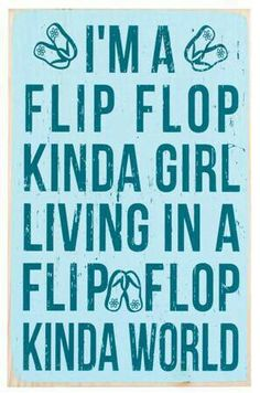 Flip flopp'en