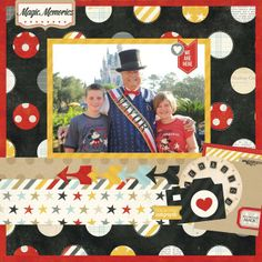 Layout: New Simple Stories Say Cheese!