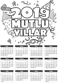 194 Heyecan Verici Takvim Görüntüsü 2019 Calendar Crafts For