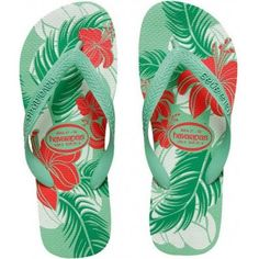 Havaianas Hibisco Pool Green at Flopestore Malaysia, www.flopstore.my