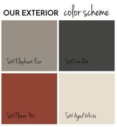 Trendy front door colors with gray siding grey exterior paint, Exterior Gris, House Exterior Color Schemes, Exterior Gray Paint, Exterior Paint Colors For House, Paint Colors For Home, Paint Colours, Exterior Shutters, Exterior Paint Color Combinations, Gray Siding