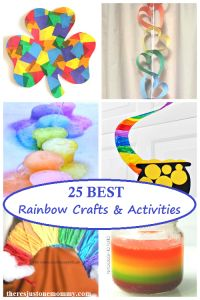 25 of the BEST rainbow crafts and activities