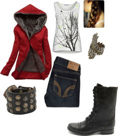 """Little Red Riding Hood"" by kristinrogers82 on Polyvore"