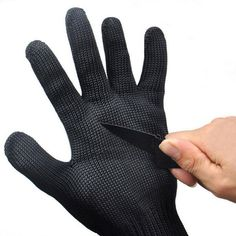 1 Pair Fishing Gloves Anti Slip Finger Hunting Glove Anti Cut Luvas De Guantes Mesh Gants