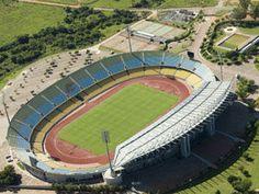 Royal Bafokeng Stadium in South Africa,2010