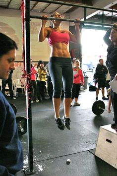 My goal this year to to do a pull up-I can run a marathon but can't even pull my own weight up!