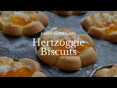 FATIMA SYDOW'S HERTZOGGIES - YouTube South African Recipes, My Cookbook, Easy Meals, Easy Recipes, Biscuits, Goodies, Bread, Make It Yourself, Baking