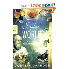 Amazon.com: Sophies World: A Novel About the History of Philosophy (FSG Classics) (9780374530716): Jostein Gaarder, Paulette Moller: Books --> recommended by a Norwegian classmate for its relation to a lake I dipped my toes in yesterday!