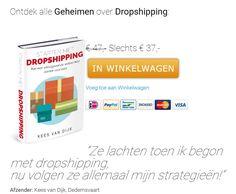 """Ontdek alle Geheimen over Dropshipping. Is dropshipping iets voor mij? Hoe vind ik de juiste leverancier? Is dropshipping niet al verleden tijd? Zomaar wat vragen die ik bijna wekelijks wel krijg. In mij nieuwe e-book """"Starten met Dropshipping"""" geef ik antwoord op al deze vragen. En natuurlijk ga ik veel dieper in op het concept 'dropshipping'."""
