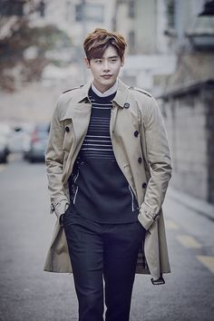 Lee Jong Suk - InStyle Magazine March Issue '16
