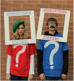 Guess Who couple costume