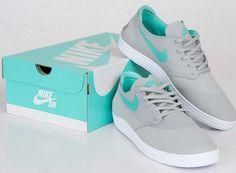 Nike SB Lunar One Shot - Mint/Grey