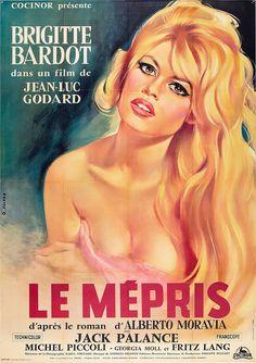 Brigitte Bardot through posters