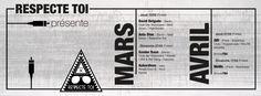 Programme Mars/Avril 2016