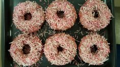 [Homemade] Baked Strawberry Donuts #recipes #food #cooking #delicious #foodie #foodrecipes #cook #recipe #health
