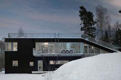 """nonconcept: """"Pulkabacken House, located in Värmdö, Sweden by Street Monkey Architects. (Photography: Robin Hayes) """""""