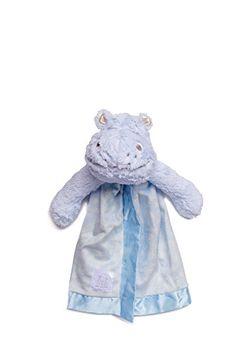 Little Sleepy Head Snuggler Lovey Security Blanket (Hippo...