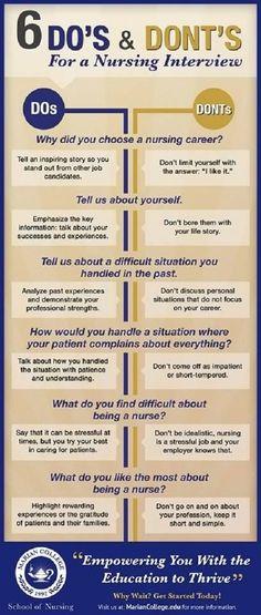 job interview tips for nurses