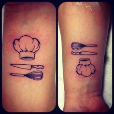 Chef tattoo Burak Dikel Tattoo Studio Adana/Turkey