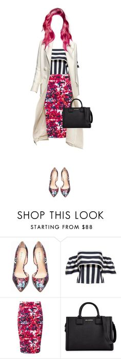 """Untitled #533"" by zalarupar ❤ liked on Polyvore featuring Bebe, Pure Collection and Karl Lagerfeld"