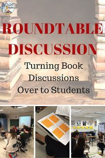 Read this blog post about how one teacher gets students to take ownership for their reading and discussion.