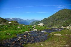 En la ascensión al pic Lurien, Francia