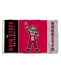 This Brutus Ohio State Buckeyes Grommet Flag is perfect! #zulilyfinds
