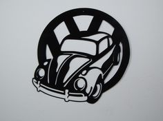 Hey, I found this really awesome Etsy listing at https://www.etsy.com/listing/68289982/vw-classic-beetle-metal-wall-art
