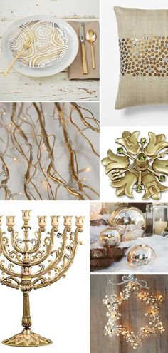 Gold Chanukah Inspiration