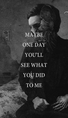 Memphis May Fire. // one day you'll see the hurt you caused… Sad Love Quotes, Amazing Quotes, Quotes To Live By, Life Quotes, Missing Quotes, Funny Quotes, Genius Quotes, Strong Quotes, It's Funny