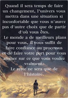 Positive Mind, Positive Attitude, Positive Vibes, Motivational Quotes, Inspirational Quotes, Go For It Quotes, Quote Citation, Strong Words, French Quotes