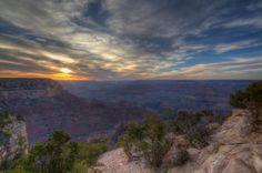 The Grand Canyon #arizona #grandcanyon #sunset #travel #photography