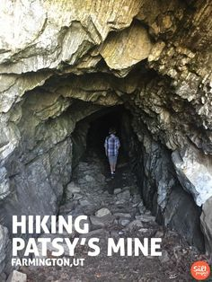 Patsy's Mine | Adventurin' | Farmington | The Salt Project | Things to do in Utah with kids