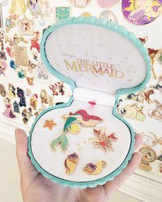 the little mermaid disney pins - Disney Ideen Disney Dream, Disney Style, Disney Magic, Disney Pixar, Disney Parks, Orlando Disney, Disney Pins Sets, Disney Trading Pins, Broches Disney
