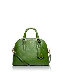Tory Burch ROBINSON STITCHED MINI DOME SATCHEL