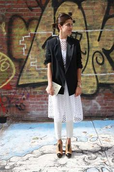 (1) - Tendencia de otoño: usa un pantalón debajo del vestido - Terra México