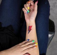 Lightning Bolt Tattoo by Georgia Grey