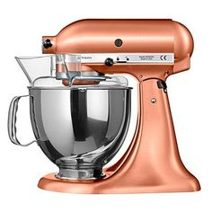 Rose gold kitchen blender from KitchenAid. For more copper kitchen accessories, click the picture or see www.redonline.co.uk