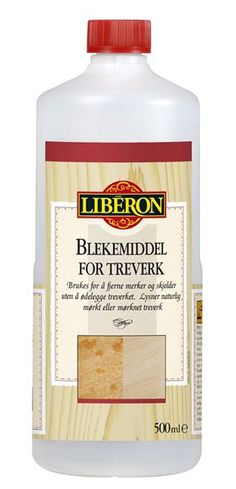 Liberon Blekemiddel for treverk - :. Alanor AS .: