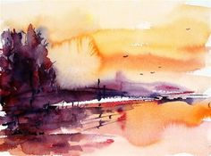 """Autumn road"" - Original Fine Art for Sale - © Mikko Tyllinen"