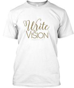 Write the vision - make it plain! Cool Tee Shirts, Cool Tees, Funny Tshirts, Write The Vision, Just Run, Personalized T Shirts, Custom T, Shirt Designs, Running