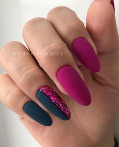 What Christmas manicure to choose for a festive mood - My Nails Dream Nails, Love Nails, My Nails, Grow Nails, Funky Nails, Trendy Nails, Nail Photos, Best Acrylic Nails, Matte Gel Nails