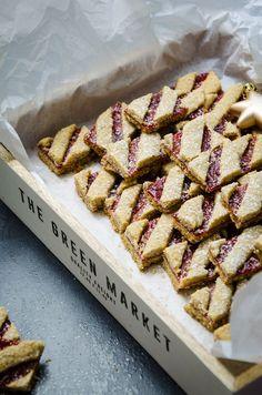Linzer Streifen (Weihnachtskekse) | Baking Barbarine