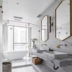 To help you choose the best type of sink for your bathroom, we will walk you through the different types of sinks, so you can make the best decision while shopping for a new bathroom sink. [Bathroom Design Ideas, Bathroom Sink Decor, Bathroom Sink Types] #BathroomDesignIdeas #SinkIdeas #BathroomRenovations
