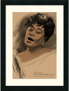 Known As 'The First Lady Of Song', Ella Fitzgerald Is One Of The Most Influential Jazz Singers Of All Time. She Was Best Known For Her Catchy Nursery Rhyme, 'A Tisket A Tasket' And Followed By 'Undeci